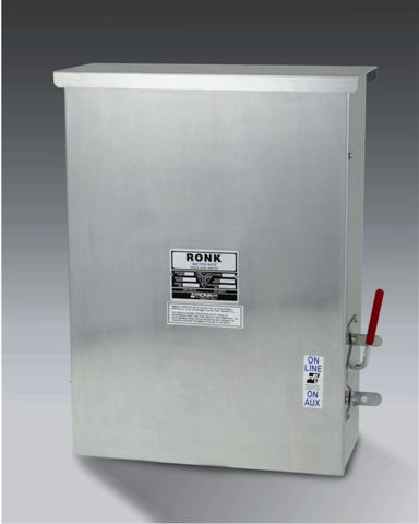 Ronk T-5233-6 Transfer Switch (1Ph, 800/600A, 600VAC)