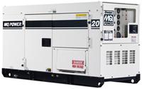 MQ Whisperwatt DCA20SPX Generator (22kW)