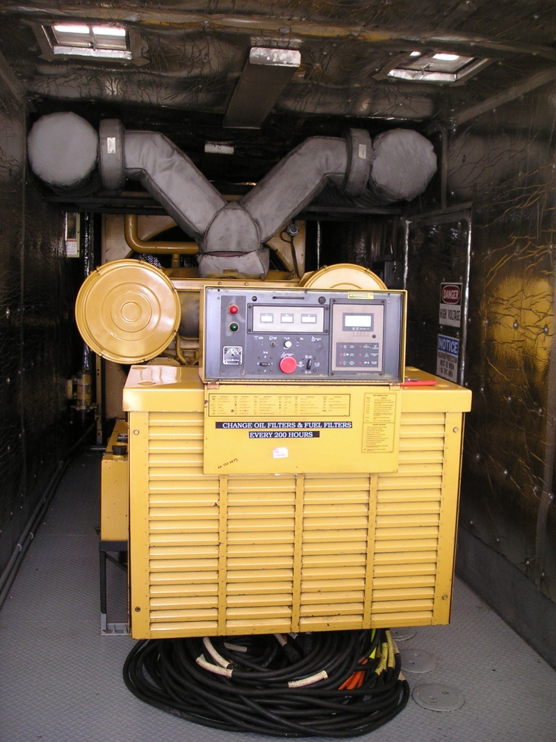 Caterpillar 3512 Mobile Diesel Generator
