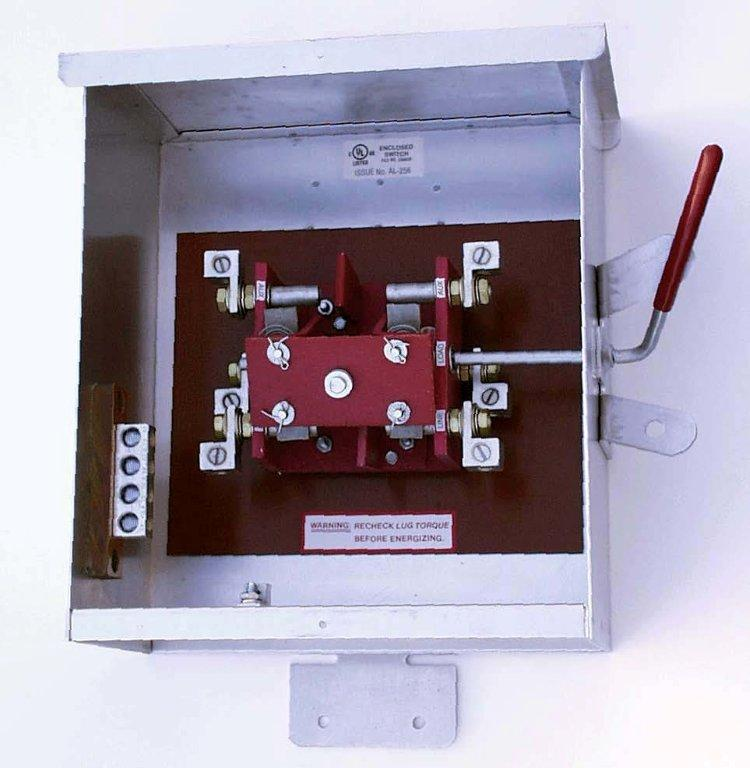 Ronk 7103 Transfer Switch (1Ph, 100A)