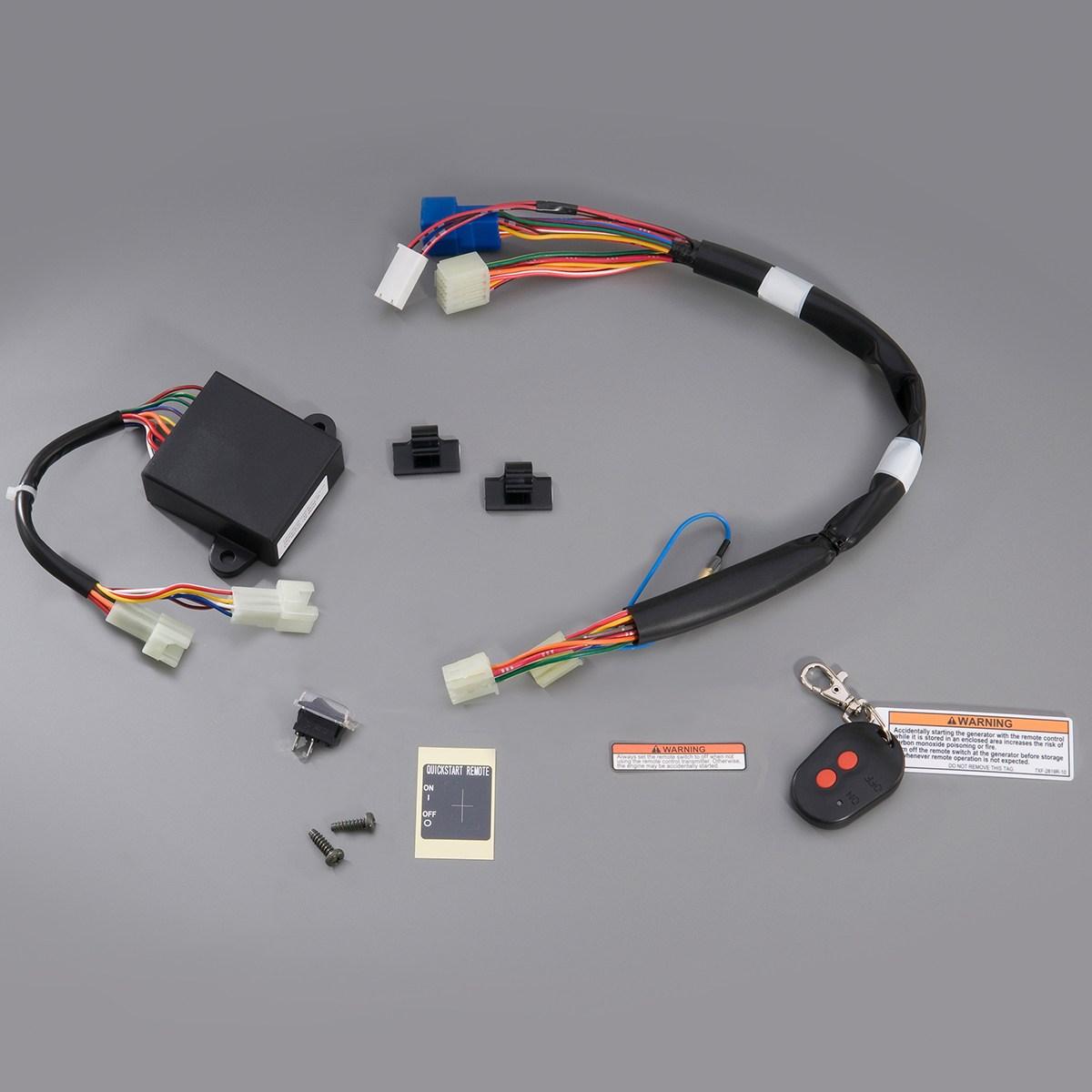 Yamaha EF4500i/EF6300i Remote Wireless Start Kit