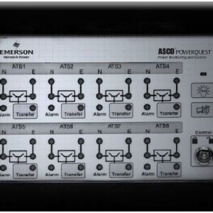 Asco Eight Channel 5350 Annunciator