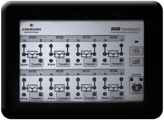 Asco Eight Channel 5350 Annunciator