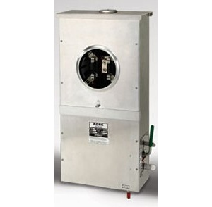 Ronk 7215-MSL-UG Transfer Switch (200A/Center Off)