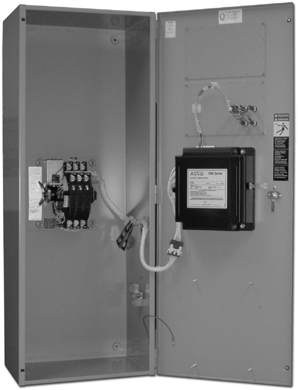 Asco 7000 Auto Transfer Switch (3Ph, 100A)