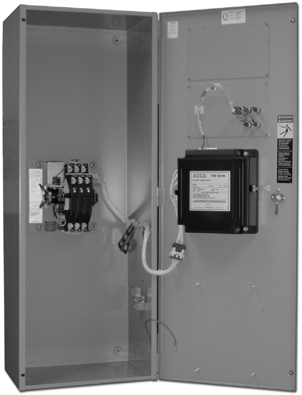 Asco 7000 Auto Transfer Switch (1Ph, 100A)