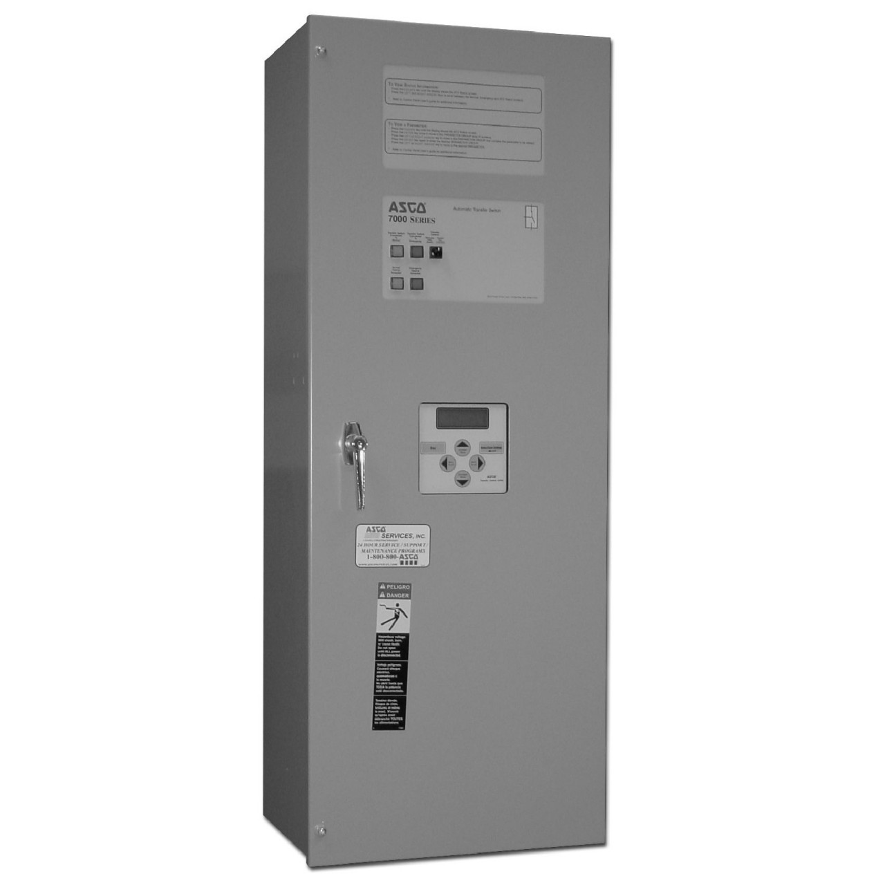 Asco 7000 Manual Transfer Switch (3Ph, 30A)