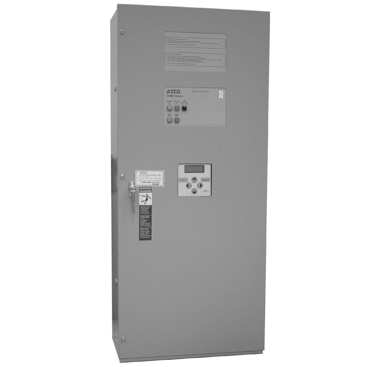 Asco 7000 Manual Transfer Switch (3Ph, 600A)
