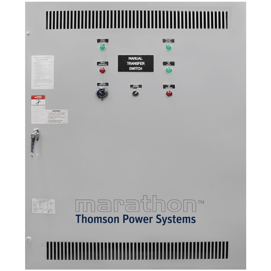 Thomson TS870SE Manual Transfer Switch (1Ph 800A)