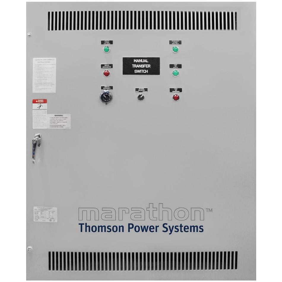 Thomson TS870SE Manual Transfer Switch (1Ph 400A)