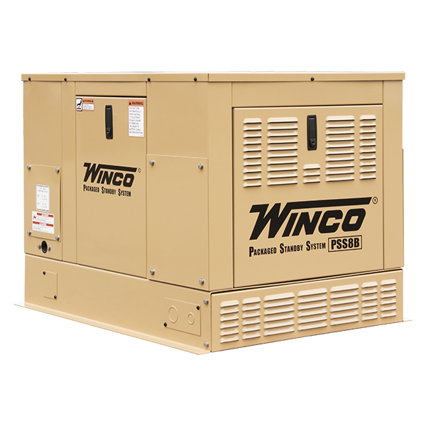 Winco PSS8 Home Standby Generator (8kW)