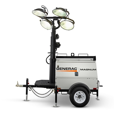 Magnum MLT4060V Mobile Light Tower (6kW)