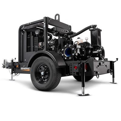"Magnum MTP4DZD Dry Prime Trash Pump (4"")"