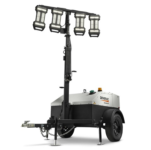 Magnum MLT4060MVD Mobile LED Light Tower (6kW)