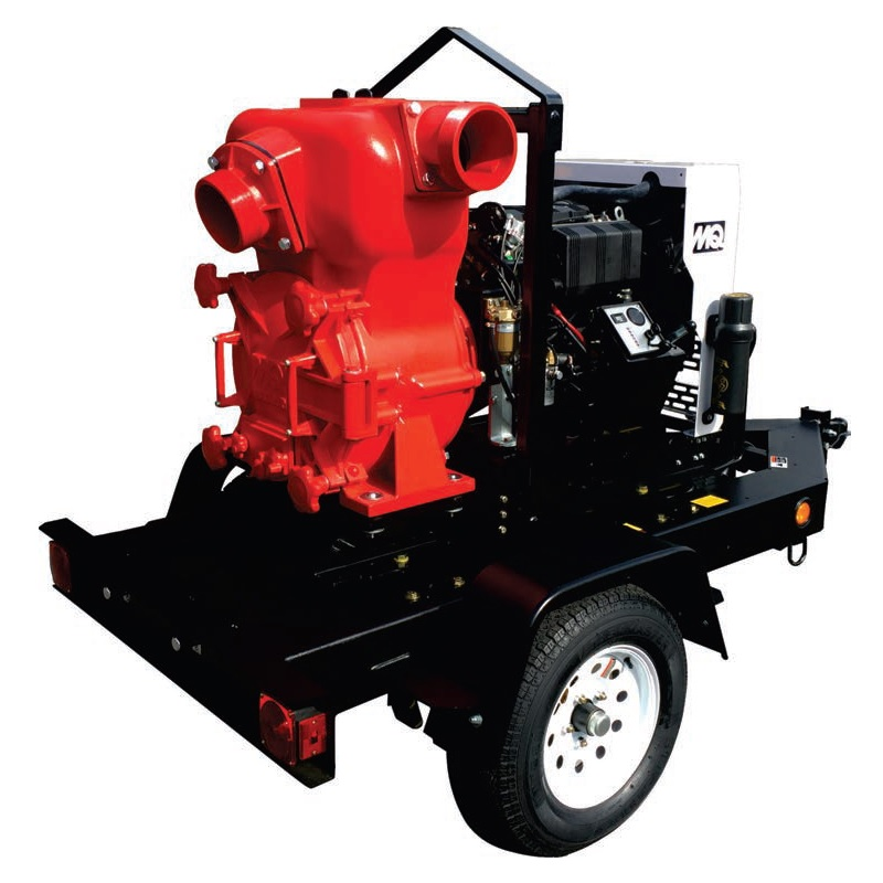 "Multiquip MQ62TK Diesel Trash Pump (6"")"