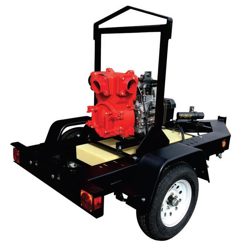 """Multiquip QP4TKT Diesel Trash Pump (4"""")"""