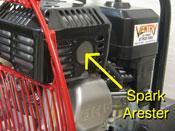 Ventry Spark Arrester (GX200 Engine)