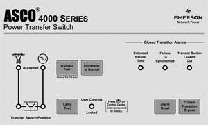 Asco 4000 Auto Transfer Switch (3Ph, 4-Pole, 150A)