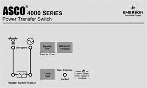 Asco 4000 Auto Transfer Switch (3Ph, 4-Pole, 100A)
