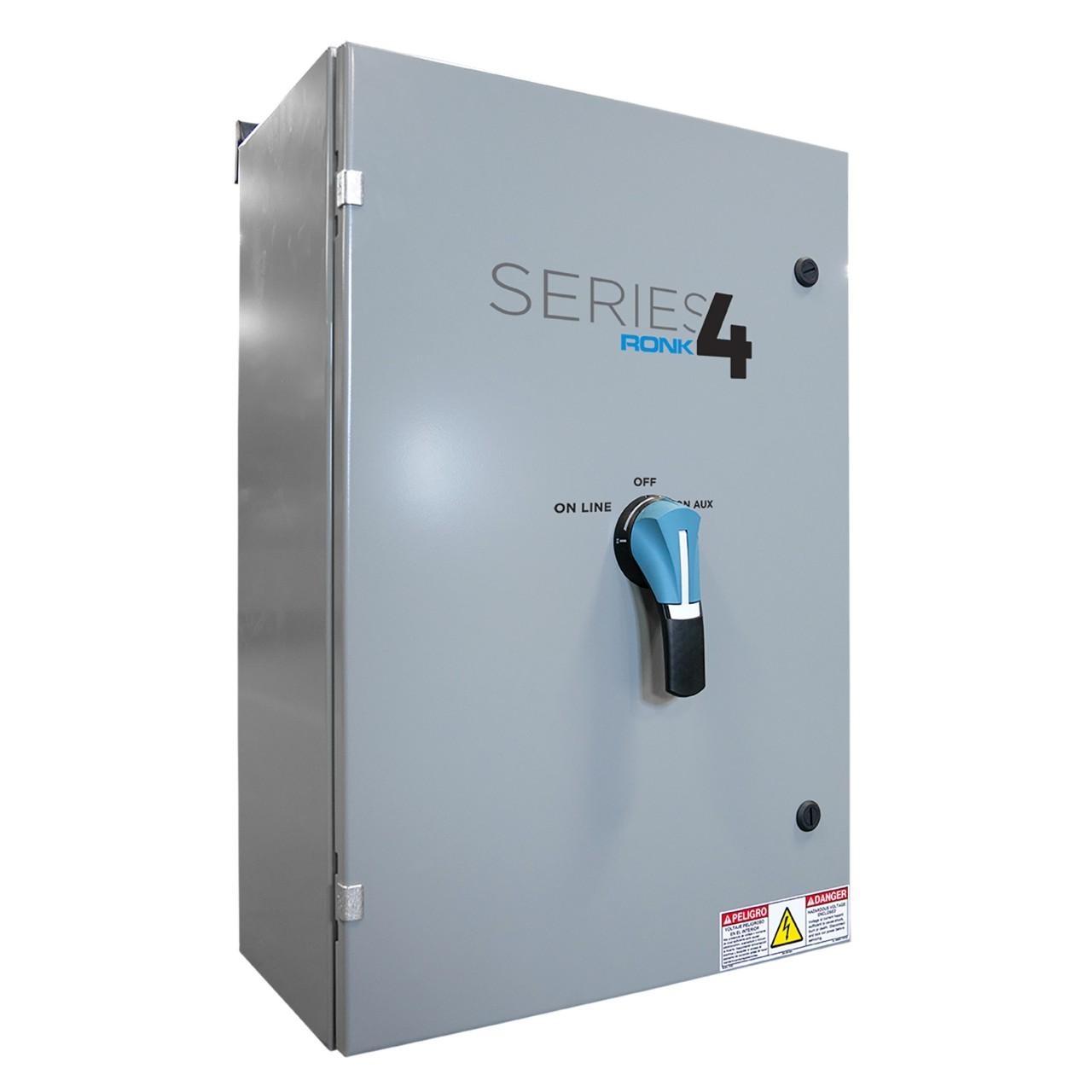 Ronk 4104 Transfer Switch (3Ph, 4-Pole, 100A)