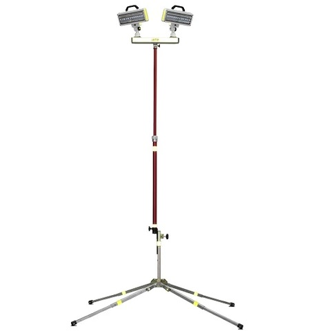 Lentry Two-Headed LED Polelight System (Utility)